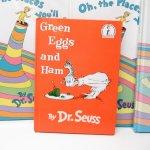 E.T.など他キャラクター  ドクタースース Dr.Seuss Green eggs and hams ヴィンテージ絵本 B