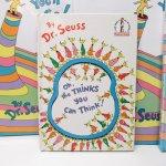 ブックス  ドクタースース Dr.Seuss Oh, the thinks you can think! ヴィンテージ絵本 A