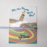 ブックス  ドクタースース Dr.Seuss Oh, the places you'll go! ヴィンテージ絵本 B
