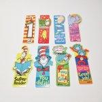 チケット、スコアパッドなどの紙物・紙モノ雑貨  ドクタースース Dr.Seuss 現行品ブックマーク各種