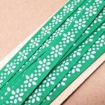 シームテープ&トリム  アメリカンヴィンテージ ソーイング シームテープ 緑とお花