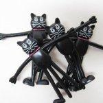 ハロウィン&サンクスギビング  ハロウィン ベンダブル 並行輸入品 黒猫