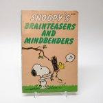 トイ&ホビー  スヌーピーコミックブック Brainteasers & Mindbenders クイズブック