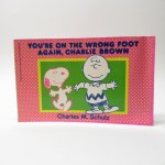 スヌーピー  スヌーピーコミックブック You're on the wrong foot again, Charlie Brown