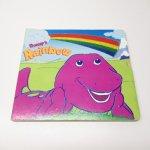 E.T.など他キャラクター  バーニー絵本 Barney's Rainbow