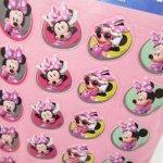 シール  ミッキーマウスと仲間たち ミニーシール2枚セット