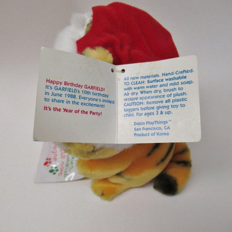 ガーフィールド DAKIN社 1980年代 クリスマス ウィッシュリスト 紙タグ付き【画像11】