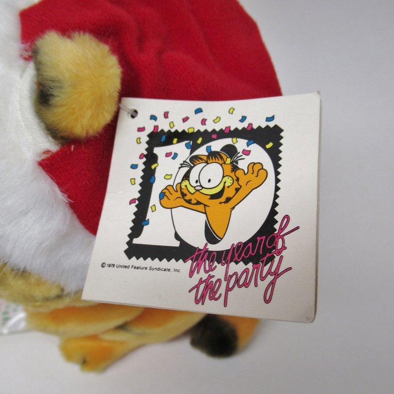 ガーフィールド DAKIN社 1980年代 クリスマス ウィッシュリスト 紙タグ付き【画像9】