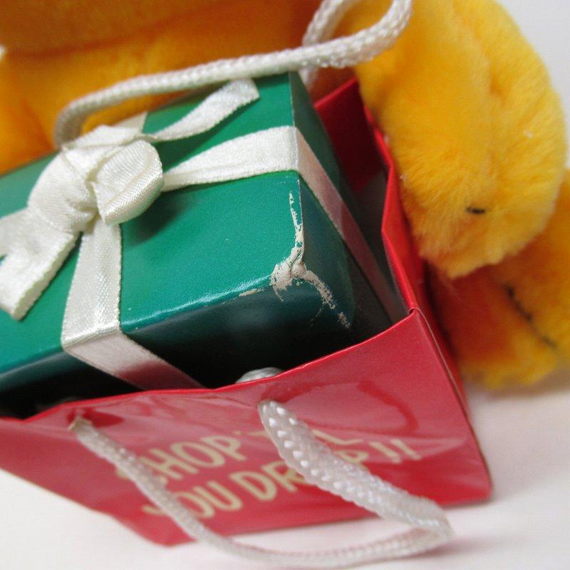 ガーフィールド DAKIN社 1980年代 クリスマス Shop 'til you drop!! オリジナル紙タグ付き【画像2】