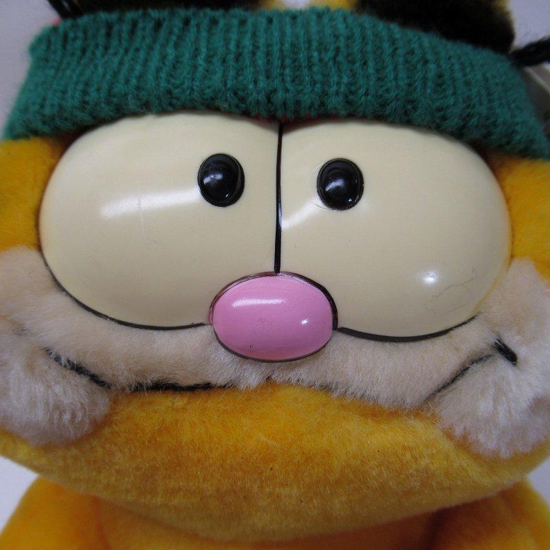 ガーフィールド DAKIN社 1980年代 クリスマス Shop 'til you drop!! オリジナル紙タグ付き【画像4】
