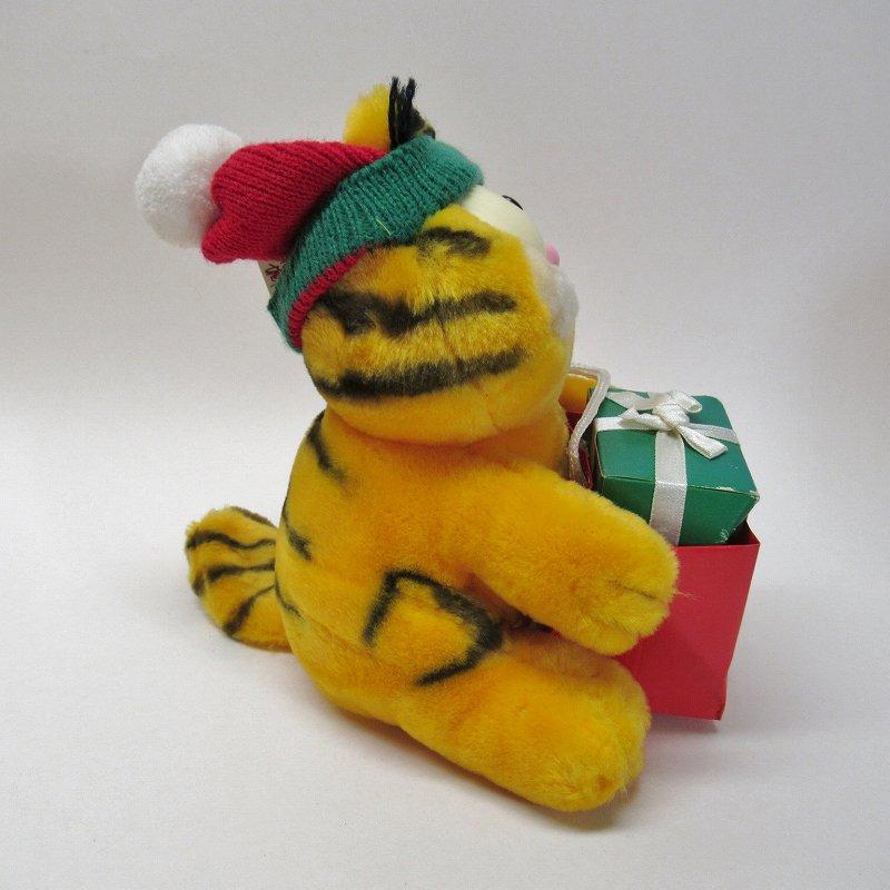 ガーフィールド DAKIN社 1980年代 クリスマス Shop 'til you drop!! オリジナル紙タグ付き【画像5】