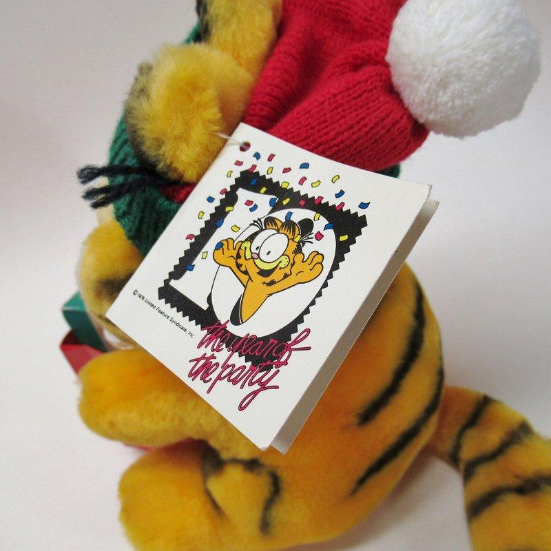 ガーフィールド DAKIN社 1980年代 クリスマス Shop 'til you drop!! オリジナル紙タグ付き【画像8】