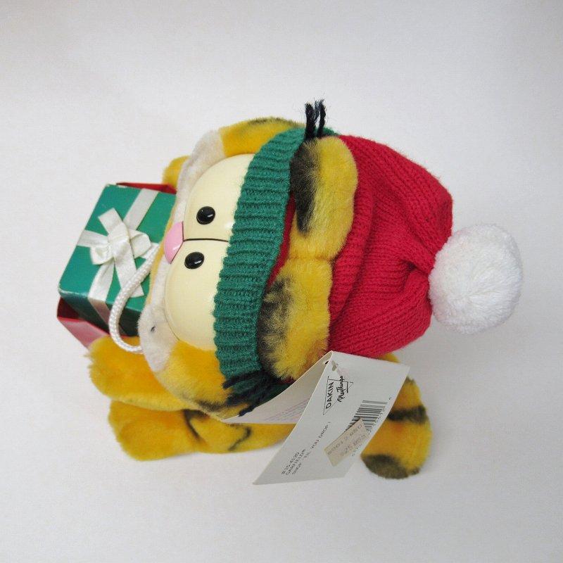 ガーフィールド DAKIN社 1980年代 クリスマス Shop 'til you drop!! オリジナル紙タグ付き【画像10】
