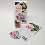 マグネット  マクドナルド 1998年 立体ソフビマグネット&クーポン付き スピーディー未使用