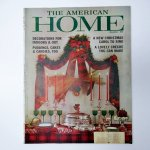ホーム系マガジン  ヴィンテージマガジン The American Home 1961年12月号 クリスマス号