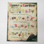 ホーム系マガジン  ヴィンテージマガジン House & Garden 1941年12月号 クリスマス号ギフト特集