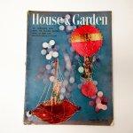 ホーム系マガジン  ヴィンテージマガジン House & Garden 1951年12月号 クリスマス号