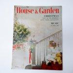 ホーム系マガジン  ヴィンテージマガジン House & Garden 1952年12月号 クリスマス号