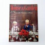 ホーム系マガジン  ヴィンテージマガジン House & Garden 1955年12月号 クリスマス号