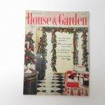 ホーム系マガジン  ヴィンテージマガジン House & Garden 1957年12月号 クリスマス号
