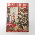 ホーム系マガジン  ヴィンテージマガジン House Beautiful 1942年12月号 クリスマス号