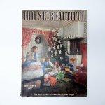 ホーム系マガジン  ヴィンテージマガジン House Beautiful 1943年12月号 クリスマス号
