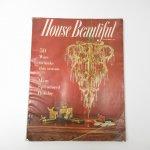 ホーム系マガジン  ヴィンテージマガジン House Beautiful 1956年12月号 クリスマス号