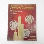 ホーム系マガジン  ヴィンテージマガジン House Beautiful 1960年12月号 クリスマス号