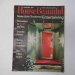 ホーム系マガジン  ヴィンテージマガジン House Beautiful 1963年12月号 クリスマス号