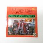 ブックス  マクドナルド 1985年 クリスマス The Legend of Santa Clause ムービーブック