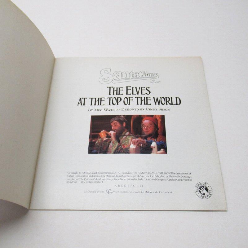 【大量入荷につきご奉仕価格】マクドナルド 1985年 クリスマス THE ELVES AT THE TOP OF THE WORLD ムービーブック【画像17】