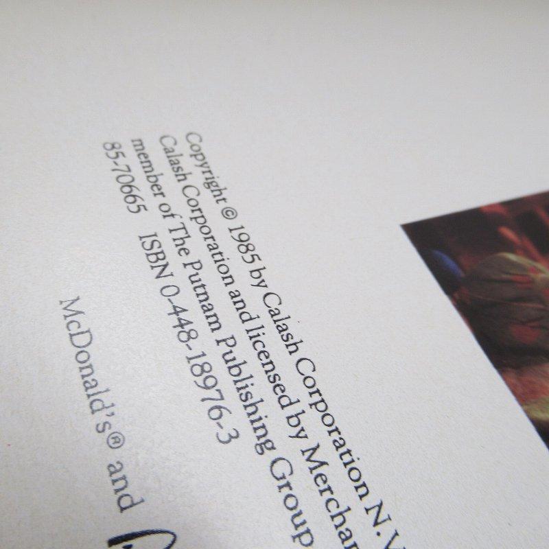 【大量入荷につきご奉仕価格】マクドナルド 1985年 クリスマス THE ELVES AT THE TOP OF THE WORLD ムービーブック【画像18】