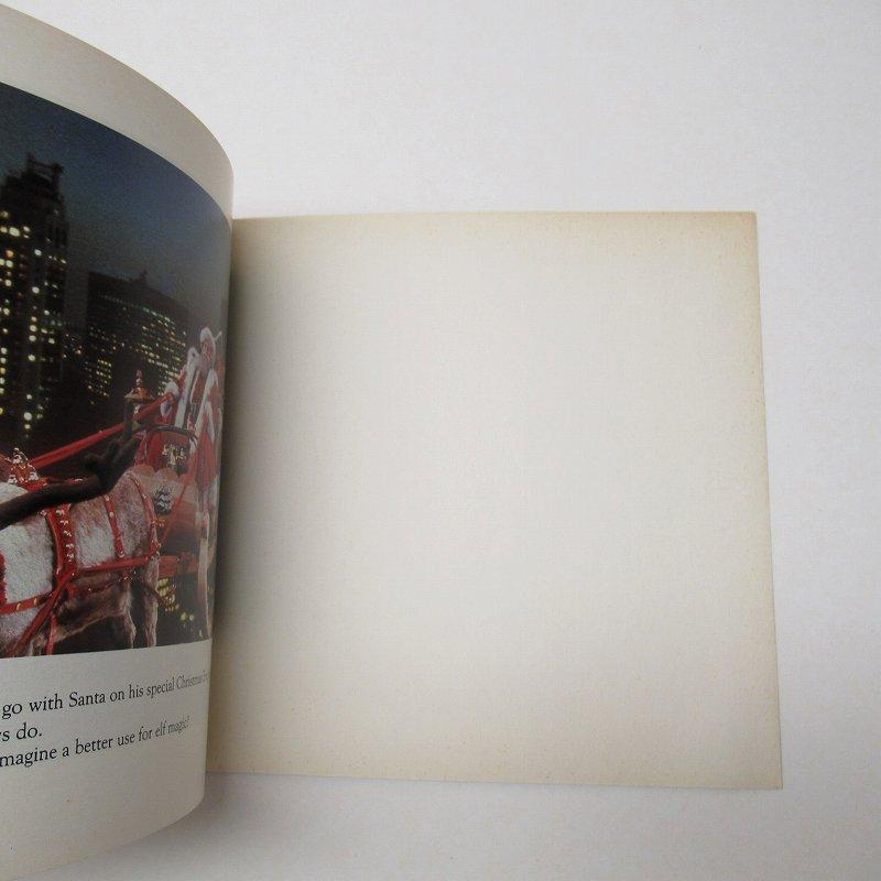 【大量入荷につきご奉仕価格】マクドナルド 1985年 クリスマス THE ELVES AT THE TOP OF THE WORLD ムービーブック【画像7】