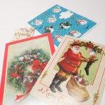 使用済  紙モノ雑貨 クリスマス4点セット