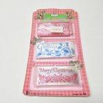 使用済  紙モノ雑貨 クリスマスミニカード 15枚セットデッドストック