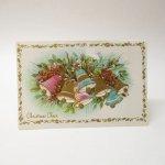使用済  クリスマスカード 1960〜70年代  クリスマスベル 使用済み