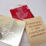 ツリーにつけるオーナメント  クリスマスオーナメント 1981年アクリル製オーナメント ふくろう オリジナル袋&箱付