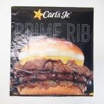 カールズジュニア広告 Prime Rib