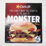 カールズジュニア広告 Monster