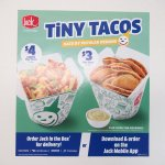 ジャックインザボックス広告 Tiny Tacos