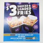 ジャックインザボックス広告 $3