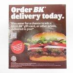 バーガーキング広告 Order BK