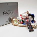 ツリーにつけるオーナメント  スヌーピー Kurt S. Adler ポーランド製マーキュリーグラス クリスマスオーナメント オリジナルボックス付き