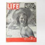 マガジン  ライフマガジン LIFE誌 1950年 3月27日号 ミスターピーナッツ広告有