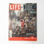 マガジン  ライフマガジン LIFE誌 1957年 10月14日号 ミスターピーナッツ広告有