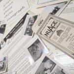 チケット、スコアパッドなどの紙物・紙モノ雑貨  紙ものセット ブラック&ホワイト B