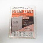 クリップ&クリップボード&ファイル&ノート  アメリカンヴィンテージ カード保管用透明ケース 説明付き