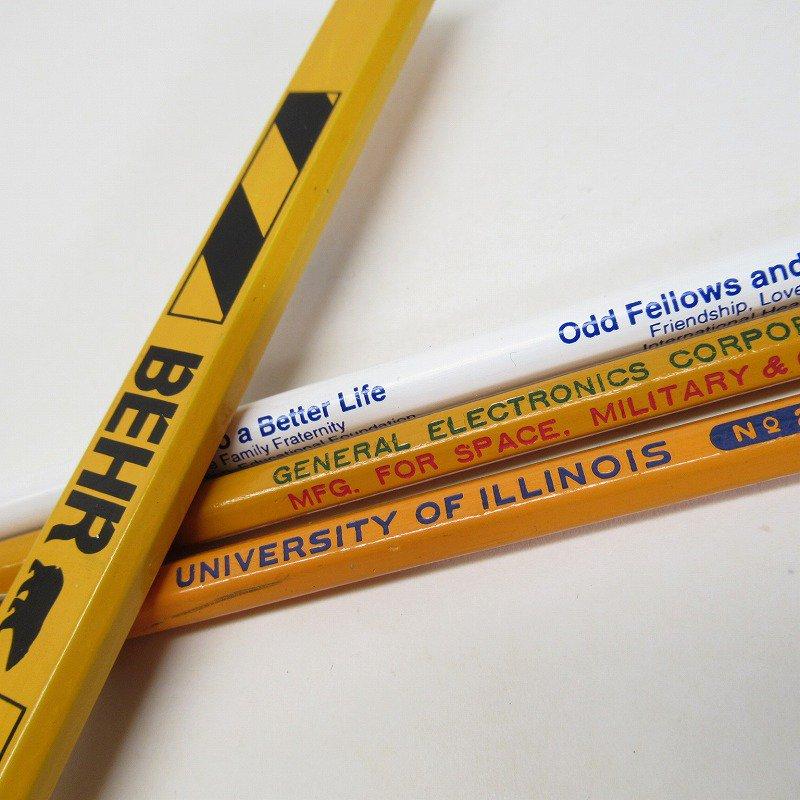 アメリカンヴィンテージ 未使用 鉛筆 販促用 4本セット
