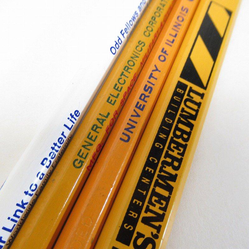 アメリカンヴィンテージ 未使用 鉛筆 販促用 4本セット【画像2】