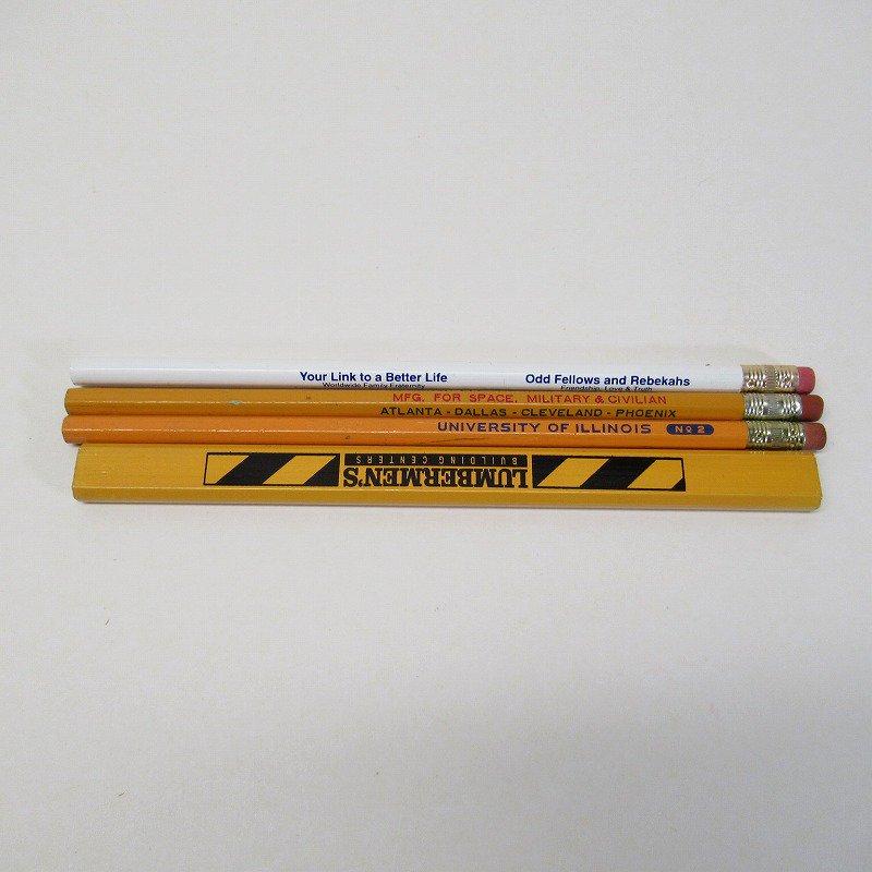 アメリカンヴィンテージ 未使用 鉛筆 販促用 4本セット【画像3】